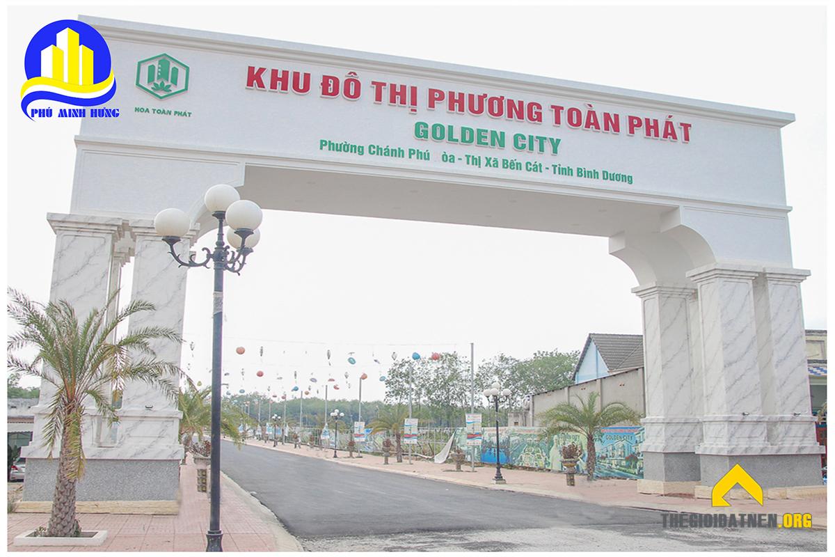 Cổng Chính Khu Đô Thị Phương Toàn Phát