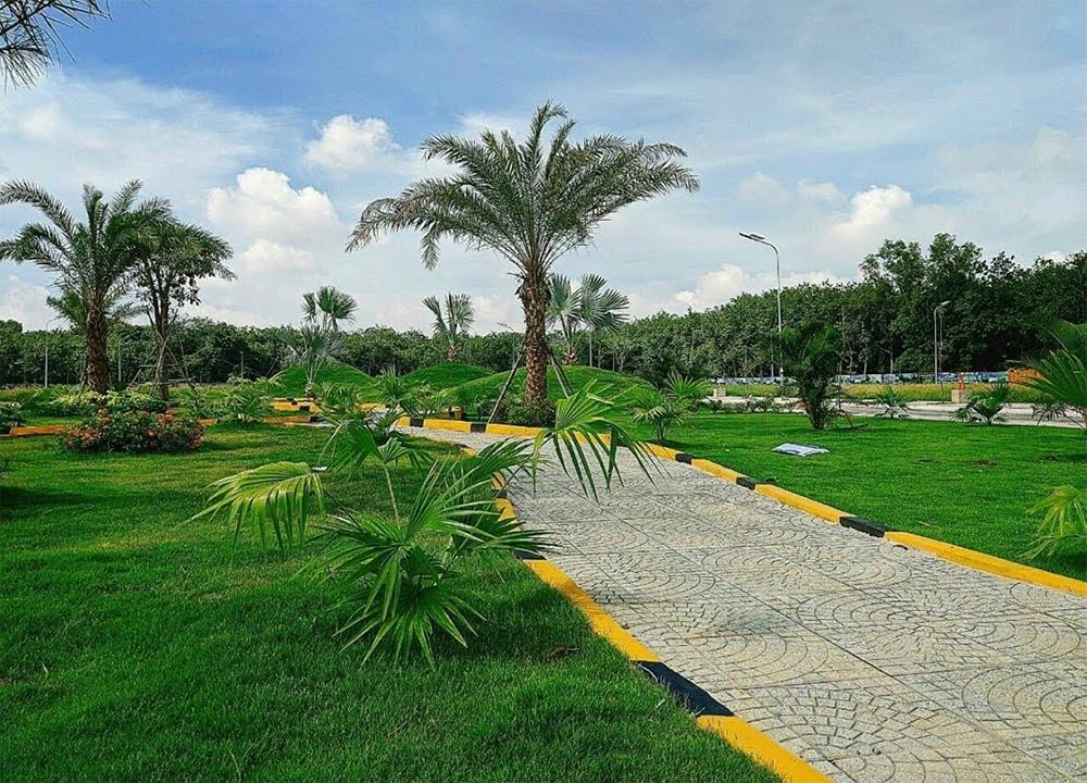 Công viên của dự án Green City
