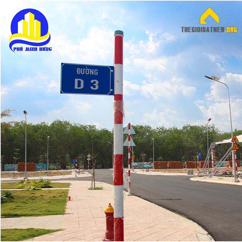 Đường D3 dự án Phương Toàn Phát