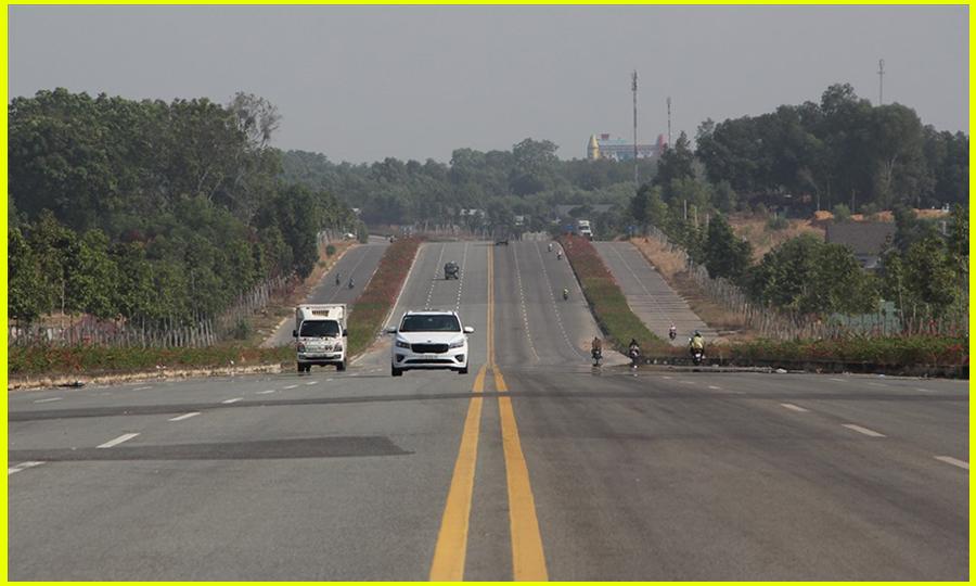 Cao tốc Mỹ Phước Tân Vạn đã được lưu thông
