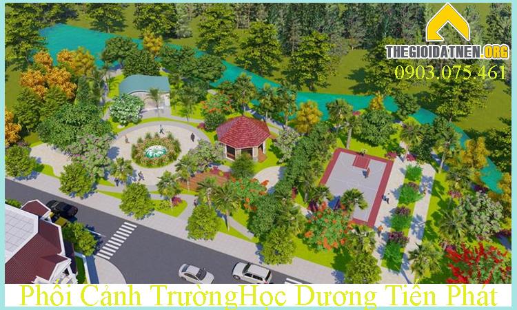 Công viên trung tâm Diamond City Bình Dương