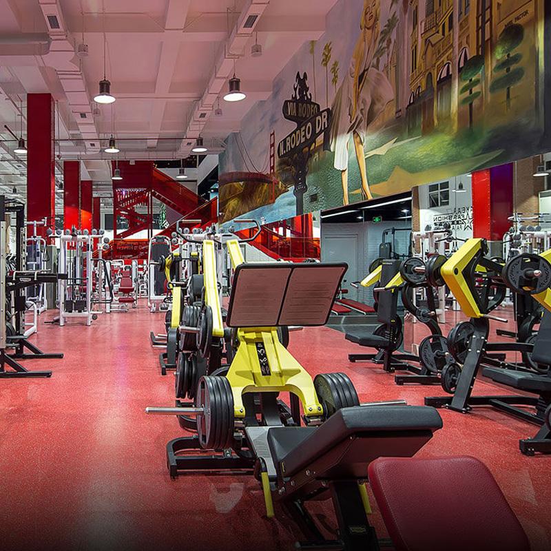 Phòng tập gym của dự án Dương Tiến Phát Tân Uyên Bình Dương