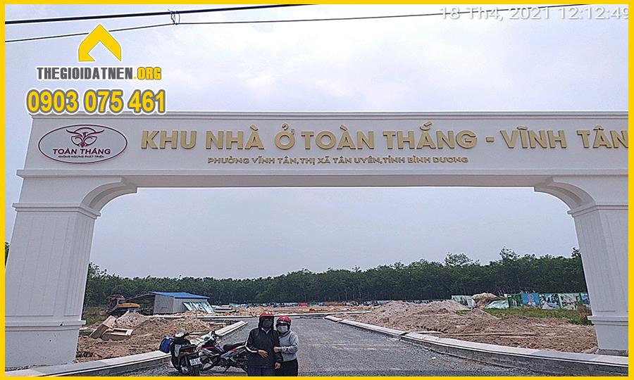Cổng Chính Dự án Toàn Thắng - INCO CITY