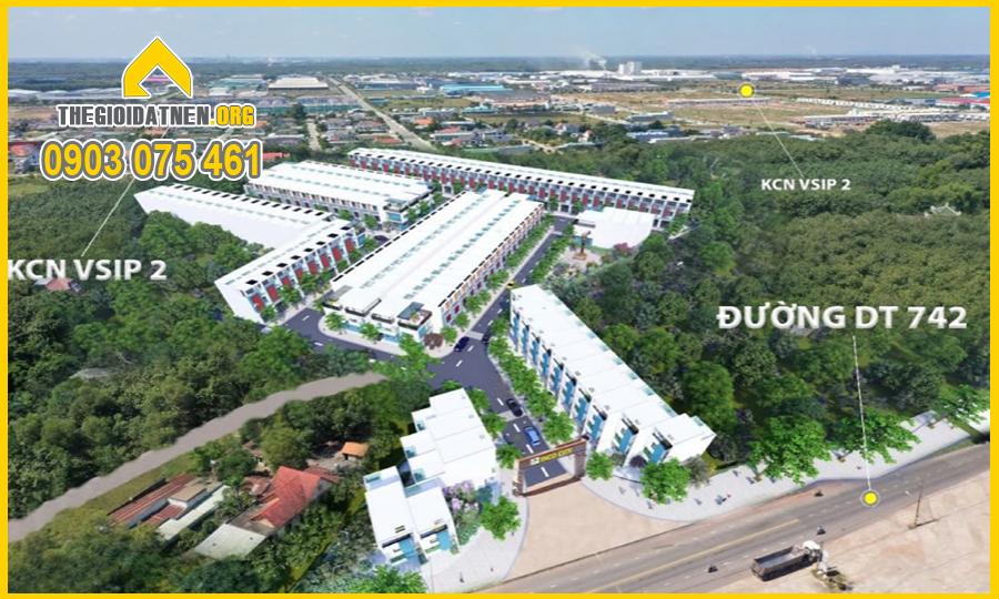 Phối Cảnh Toàn Thắng Vĩnh Tân - Inco City
